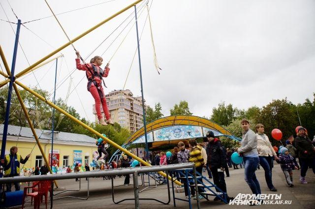 Новосибирцы временно не смогут попасть в Центральный парк
