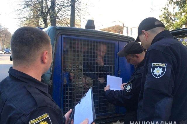 В Ровно полицейские защитили офис от «рейдерского» захвата