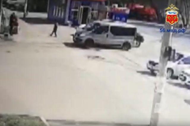 Видео смертельного ДТП в Орске.