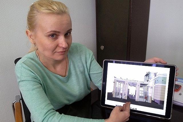 Ольга Тыртышная: специфика земельного участка - его многоконтурность и разрыв территории - не позволяют возвести такое строение, как хотят власти.