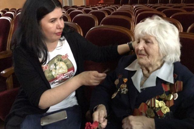 Встреча с Алимпиадой Петровной Орловцевой.