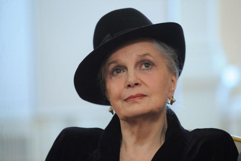 Актриса Элина Быстрицкая в 2010 году.