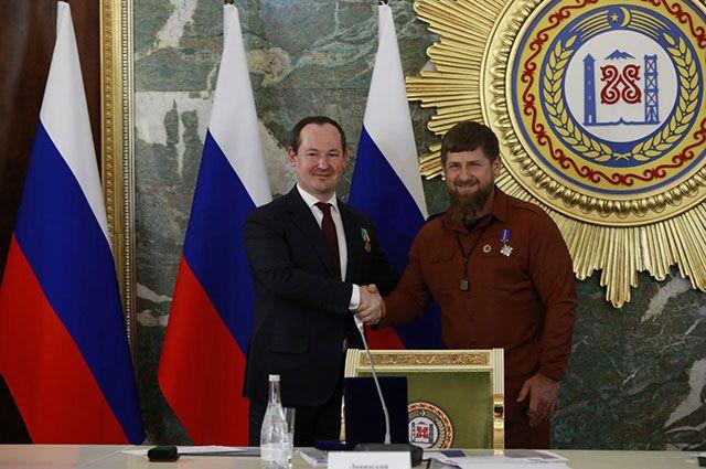 Павел Левинский и Рамзан Кадыров.
