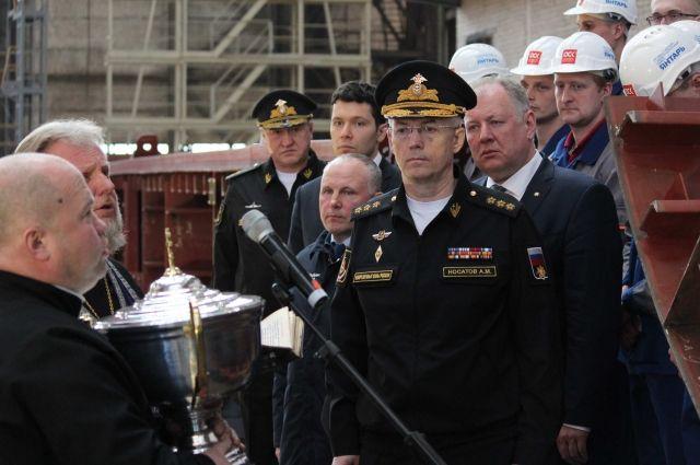 На заводе «Янтарь» заложили два больших десантных корабля