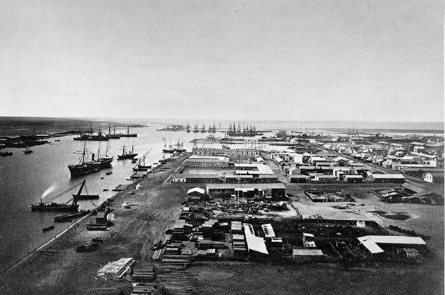 Суэцкий канал. Порт Саид.