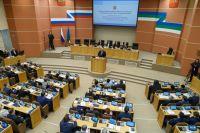 Доклад заслушали руководители районов и городов, депутаты Госсовета, члены Правительства.