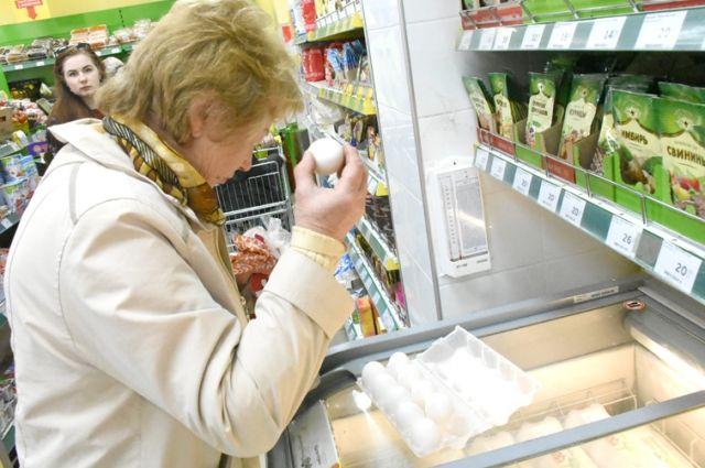 Волгоградские потребители гадают, что же произошло с яйцом.