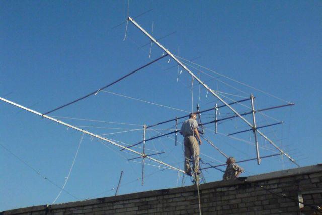 Такая антенна поможет связаться с любой точкой мира.
