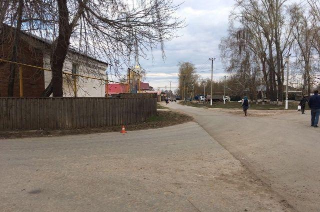 Место ДТП с. Рождествено напротив дома №13Б по ул. Совхозной