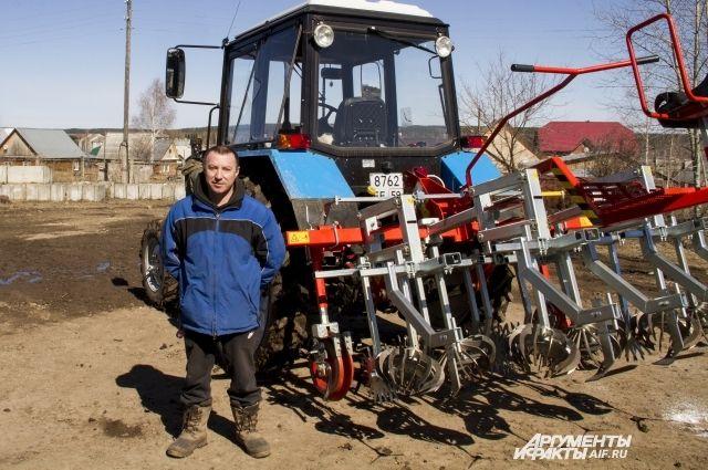 Делать что-то в половину силы фермер не привык.