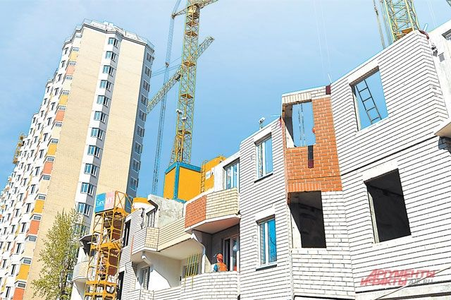 Объемы строительства в Украине выросли на 124,3%