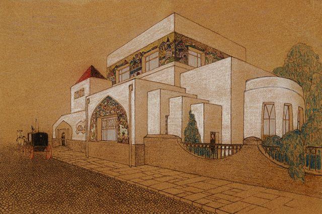 Дом-особняк Н.Л. Тарасова. Арх. Л.А. Веснин, 1910-1911 г.