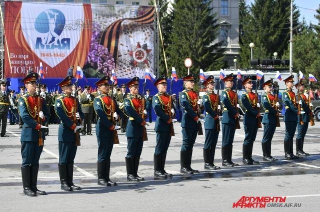 Омская мэрия решила вопрос с оформлением областного центра ко Дню Победы