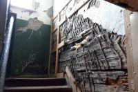 «Сталинка» обрушилась в Хабаровске.