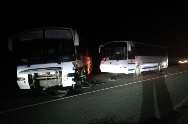 УМВД: подробности смертельного ДТП с автобусами под Оренбургом