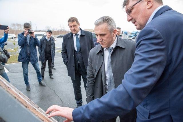 Александр Моор обсудил с ялуторовскими предпринимателями инвестпроекты