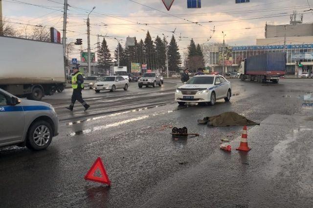 Происшествие случилось на улице Трикотажной