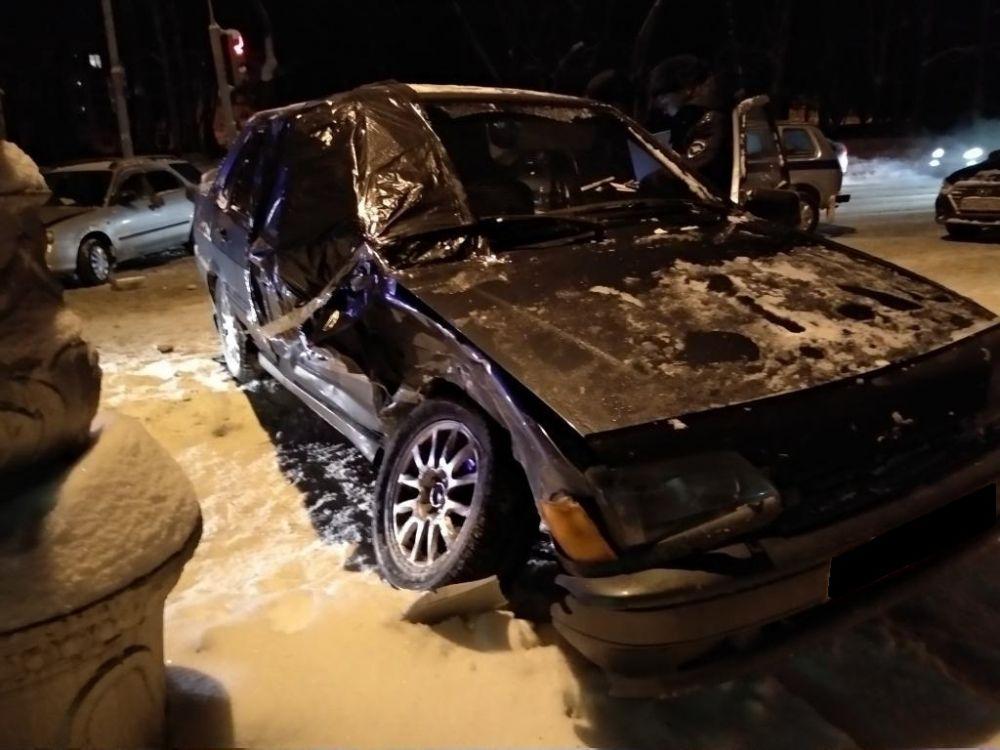 Водитель находился в состоянии алкогольного опьянения.
