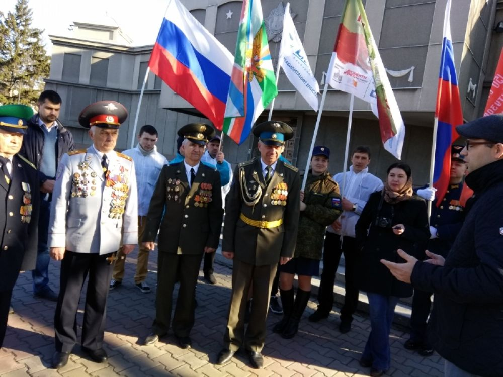 Напутствие депутата Заксобрания В. Зырянова