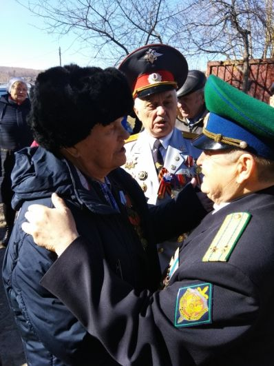 Пос. Зыково. Калеватых Александр Александрович.