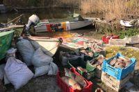 В Запорожской области браконьер подрался с сотрудником рыбинспекции