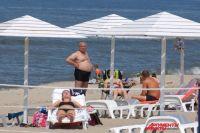 Теплые денечки ожидаются в июле и августе. Пляж в Янтарном ждет отдыхающих.