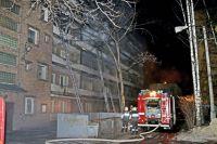 Пожар тушили до 8 часов утра.