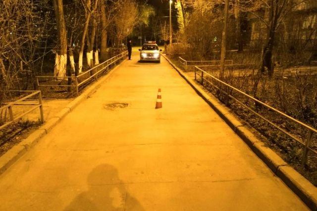 Место ДТП: Самара, напротив дома № 206 на ул. Партизанской