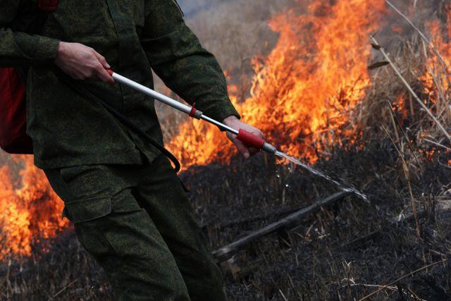 В Оренбуржье объявлен 4 класс пожарной опасности