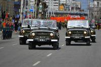Одно из традиционных событий - парад.