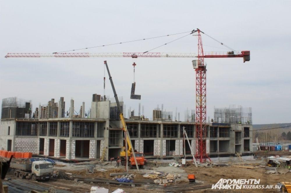 Все здания комплекса училища соединят между собой переходами.