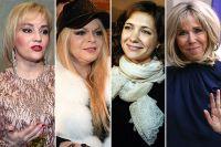 Татьяна Буланова, Лариса Долина, Екатерина Климова, Брижит Макрон.