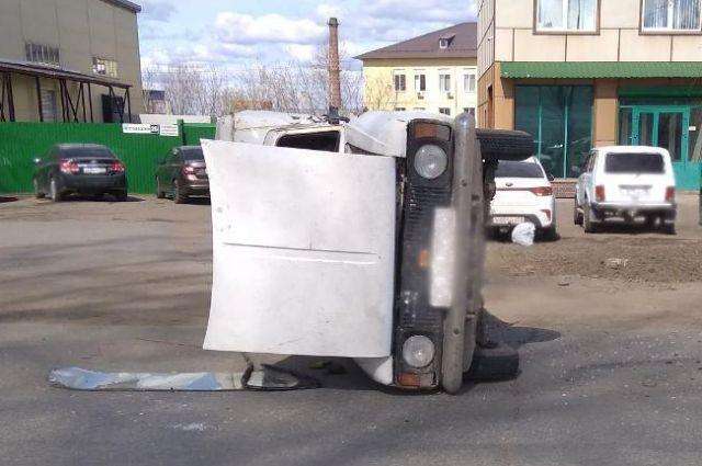 В Ижевске водитель устроил ДТП с пострадавшими и скрылся