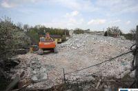 Во Львове снесли семиэтажный дом без документов