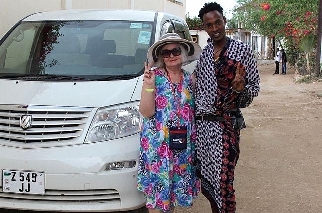 В Африке ростовчанка мечтала побывать с детства.