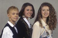 Лена Перова, Анастасия Макаревич и Изольда Ишханишвили.