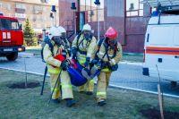 В ОГУ прошли пожарно-тактические учения.
