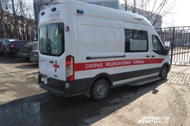 Ребёнка доставили в больницу.