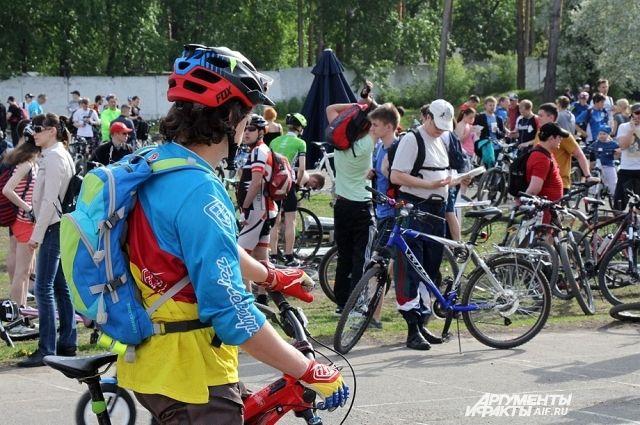 Велопробег пройдёт по улицам города.