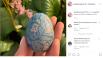 Оля Полякова загадала загадку своим подписчикам - как у певицы так оригинально удалось украсить пасхалные яйца?