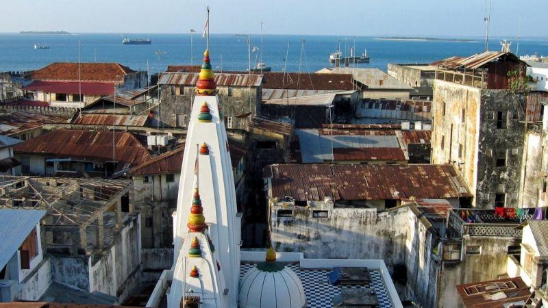 Стоун Таун или Каменный город находится под охраной ЮНЕСКО.