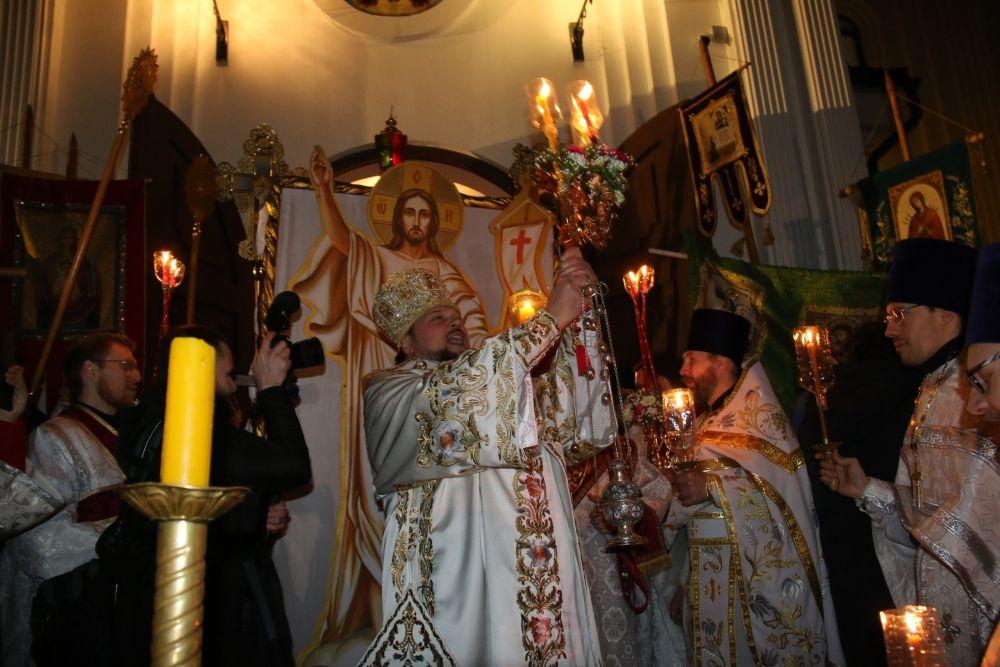 """Владыка Питирим возглашает: """"Христос Воскресе!"""""""