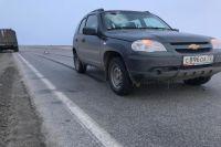 На Ямале пассажира убил кусок льда, прилетевший в лобовое стекло автомобиля