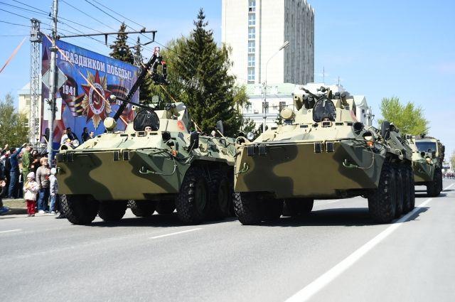 Минобороны обнародовало список военной техники для проведения парада 9 Мая photo