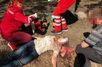 В Кривом Роге на Пасху неадекватная парочка избивала людей нунчаками