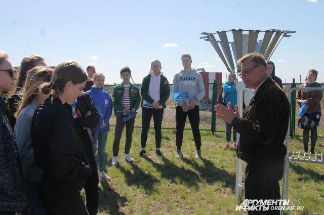 Для ребят провели экскурсию по наблюдательной площадке, рассказали, при помощи каких приборов изучаются погодные явления.