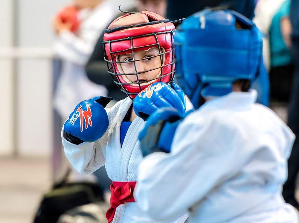 Соревнования среди детей по тайскому боксу