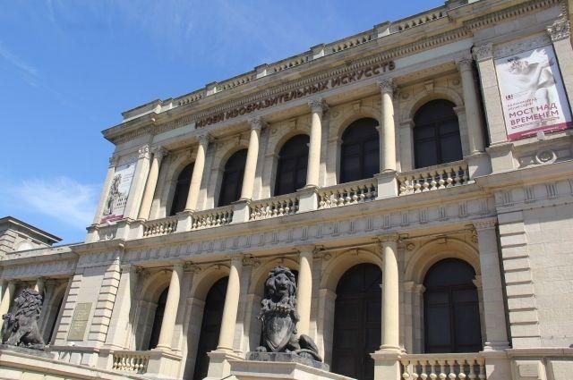 Музей изобразительных искусств можно будет посетить в выходные и праздники