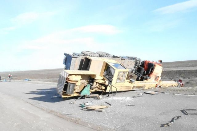 В Удмуртии водитель иномарки погиб в ДТП с КАМАЗом