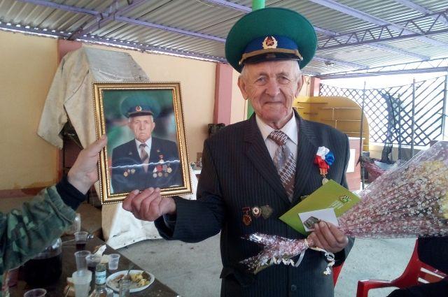 Ветеран погранвойск Алексей Тимохин
